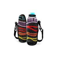 Bunabiri Neoprene Water Bottle Cooler - Rainbow River
