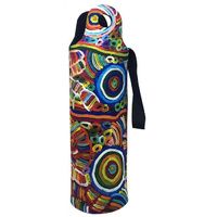 Utopia Aboriginal Art Neoprene Wine Bottle Cooler - My Mother's Story