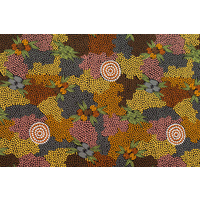 Bulurru Aboriginal Art (2m) Fabric Pack - Bush Fruit Dreaming