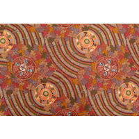 Bulurru Aboriginal Art (2m) Fabric Pack - Women's Corroboree