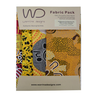 Fabric Pack [Yellow 2] - Aboriginal Design Fabric