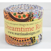 Dreamtime Jelly Rolls (Mixed) - 20pce Fabric