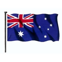 Australian National Flag (Flagpole - Sleeved)