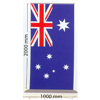 Australian National Flag Pull Up Banner