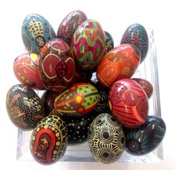 Decorative Egg - Aboriginal designed