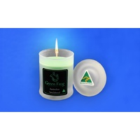 Green Frog Scented Soy Candle - Australian Sandalwood