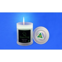 Green Frog Scented Soy Candle - Wild Mint & Lime