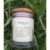 Kakadu Scented Soy Candle - Wild Red Bush Apple (135g)
