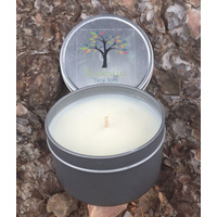 Kakadu Scented  Bush Candle Indigie Tin - Kakadu Red Water Lily (140g)