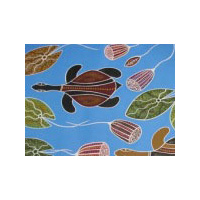AusDesigns Cushion Cover - Freshwater Turtles