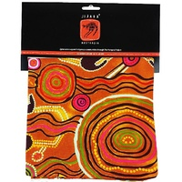 Jijaka Aboriginal Art Cushion Cover - Desert Journey