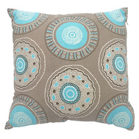 Outstations Aboriginal Cotton Canvas Cushion Covers - Bush Roots