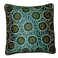 Iwantja Applique Cushion Cover by Maringka Burton