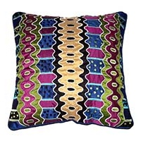 Keringke Applique Cushion Cover (40x40) - Kathleen Wallace