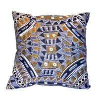 Alvira Bird - Utopia Linen Cushion Cover (45cm x 45cm)