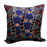 Dreamtime Sisters 2- Utopia Microfibre Cushion Cover