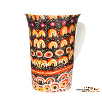 Yarliyil Aboriginal Arts Giftboxed China Mug - Desert Sand Dunes