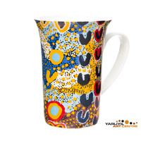 Yarliyil Aboriginal Art Giftboxed China Mug - Two Sisters at Banana Springs