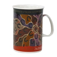 Yijan Aboriginal Art Boxed Mug - Crow Women Dreaming