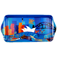Jijaka Aboriginal Art Long Melamine Scatter Tray - Sydney