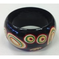 Iwantja Art Lacquered Bangle (4cm)