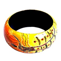 Keringke Art Lacquered Bangle (4cm)