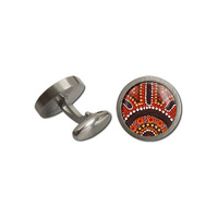 Allegria Stainless Steel Gitboxed Cufflinks - Gathering Bush Food