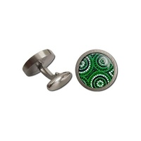 Allegria Stainless Steel Giftboxed Cufflinks - Waterholes