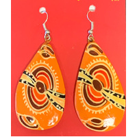 Iwantja Arts Lacquered Earrings - Iwantja Arts02