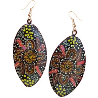 Kerrignke Arts Lacquered Earrings - Kerringke Art 01