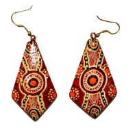 Kerrignke Arts Lacquered Earrings - Jane Oliver 1
