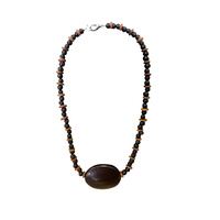 Native Rainforest Seed Necklace - Burny Bean