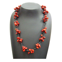 Native Rainforest Seed Necklace - Red Bean (Short)