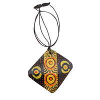 Iwantja Aboriginal Arts Pendant - Rene Sundown