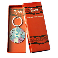Yijan Boxed Keyring - Crow Women Dreaming