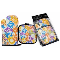 Bunabiri Dreaming Collection Mit/Pot Holder Set - Water Dreaming
