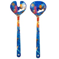 Jijaka Aboriginal Art Melamine Salad Servers - Sydney