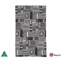 Munupi Australia Made Cotton Teatowel - Jillamara Design