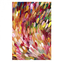 Utopia Microfibre TeaTowel - Leaves (Multi)