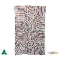 Yarliyil Aboriginal Art Australia Made Teatowel - Rock Holes