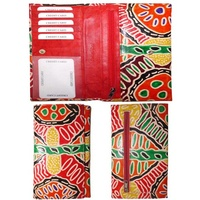 Iwantja Clutch Leather Ladies Wallet - Multi