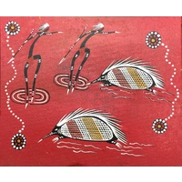 Canvas Board (10x12) - Echidna Dancers (2)