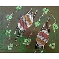 Canvas Board (10x12) - Turtles (2)