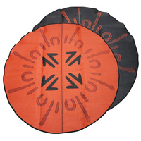 Aboriginal Recycled Mat - 2.4m Round - Roo Hunt