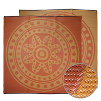 Aboriginal Recycled Mat - XLarge (3m x 3m) - Circle Time