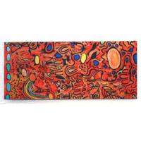 Better World Aboriginal Art Magnetic Bookmark - My Ngarrindjeri Country Dreaming