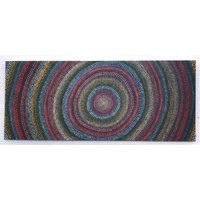 Better World Aboriginal Art Magnetic Bookmark - Daisybell Tjalumi Kulyuru