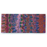 Better World Aboriginal Art Magnetic Bookmark - My Country