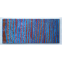 Better World Aboriginal Art Magnetic Bookmark - Water Dreaming