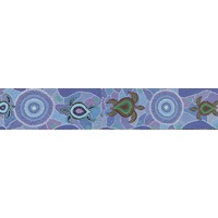 Koolbardi Aboriginal Magnetic Bookmark - Turtle Dreaming